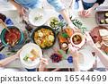 午餐 午饭 食物 16544699