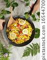 有机食品午餐Macrobiotic 16544700