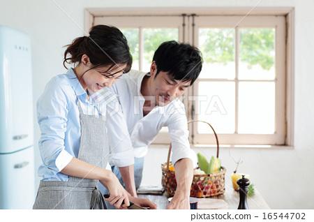 有机厨房夫妇 16544702