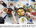 肉菜飯 食物 食品 16544707
