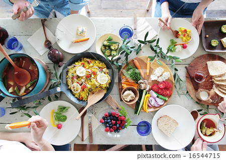 午餐 午饭 食物 16544715