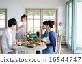 オーガニックフードランチ ホームパーティー 16544747