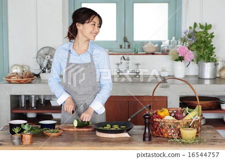 有机厨房 16544757