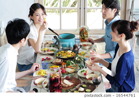 Organic Food Lunch Home Party 16544761