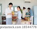 有機食品午餐家庭聚會 16544776