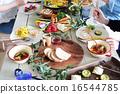 有機食品午餐家庭聚會 16544785