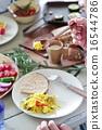 有機食品午餐家庭聚會 16544786