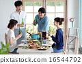 午餐 午饭 食物 16544792