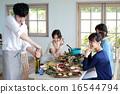 有機食品午餐家庭聚會 16544794