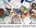 食物 食品 桌子 16544795