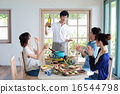 有機食品午餐家庭聚會 16544798