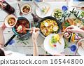 有機食品午餐家庭聚會 16544800