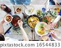 分發 同伴 餐 16544833