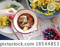 有機食品午餐Macrobiotic 16544853