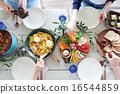 午餐 午饭 食物 16544859