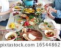 有机食品午餐家庭聚会 16544862