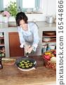 煎鍋 廚房 夫人 16544866
