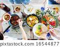 有機食品午餐家庭聚會 16544877