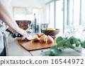 水果 廚房刀 切 16544972