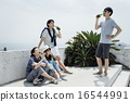 friendly, colleagues, friends 16544991