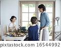 家庭聚会,用餐 16544992