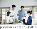 家庭聚会,4人,啤酒 16545015