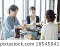家庭聚会,用餐 16545041