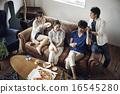家庭聚會 朋友 室友 16545280