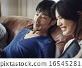 放鬆 輕鬆 情侶 16545281