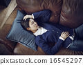 沙發 小睡 打盹 16545297