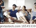 沙發 家庭聚會 share house 16545339
