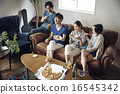 沙發 家庭聚會 share house 16545342