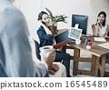 事业女性 商务女性 商界女性 16545489