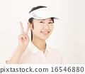 喜悦 高尔夫球手 夫人 16546880