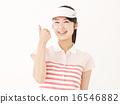高尔夫球手 成功 夫人 16546882
