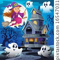Image with haunted house thematics 8 16547031