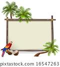 Vector Tropics Frame 16547263