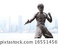 銅像 流行的 空的手 16551456