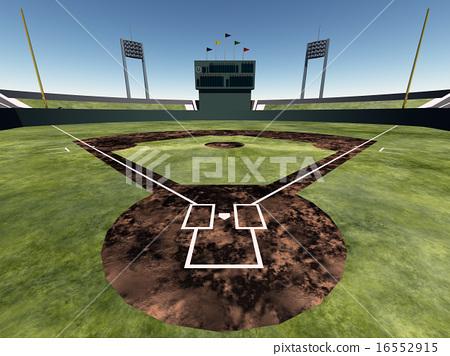 베이스볼 파크 ☆ 야구장 ☆ Baseball Park 16552915