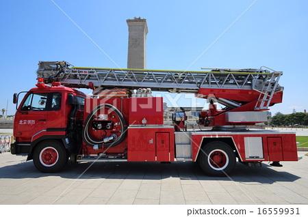 Beijing Tiananmen Square fire engine 16559931
