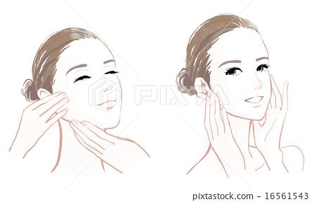 皮肤护理的形象 16561543