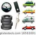 Cars and parts 16563001