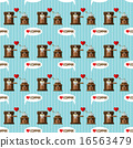 coffee machine and coffee grinder seamless pattern 16563479