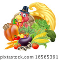 turkey, thanksgiving, basket 16565391