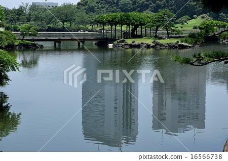 정원의 연못 16566738