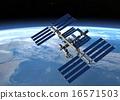 空間站 外太空 計算機圖形圖像 16571503