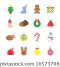 聖誕節圖標 16573706