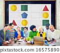 Sudoku Puzzle Problem Solving Leisure Games Concept 16575890