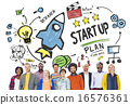 Start Up Business Launch Success People Diversity Concept 16576361