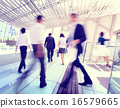 Hong Kong Business People Commuting Concept 16579665